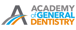 The Academy of General Dentistry Logo shows that some of our dentists in Woburn are members
