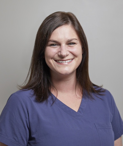 One of our dental assistants, who is smiling as part of our dental team